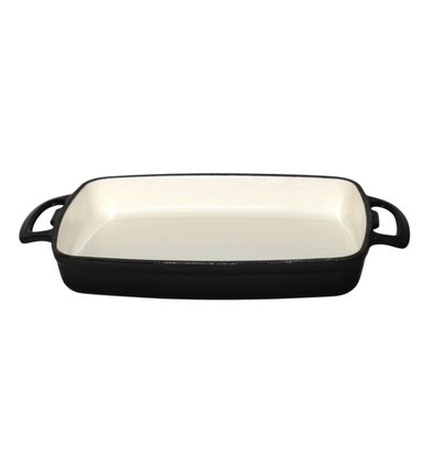 XXLselect Rectangular baking dish Black | 2.8 Liter | 390x235x (H) 55mm