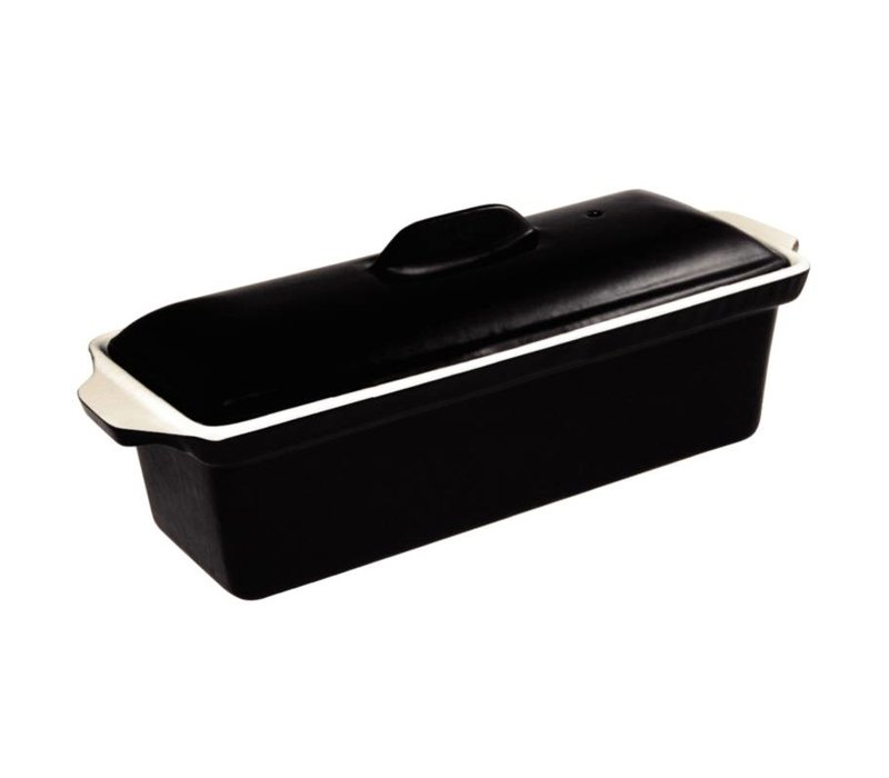 XXLselect Pate Terrine Black | 1.7 Liter | 340x105x (H) 110mm