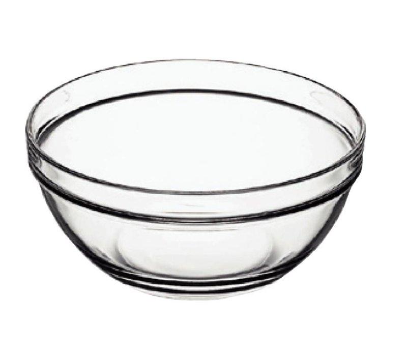 XXLselect Glass Bowl - Tempered Glass - Price per 6 Pieces - 0.35Liter - Ø60mm
