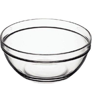 XXLselect Glass Bowl - Tempered Glass - Price per 6 pieces - 0:07 Liter - Ø75mm