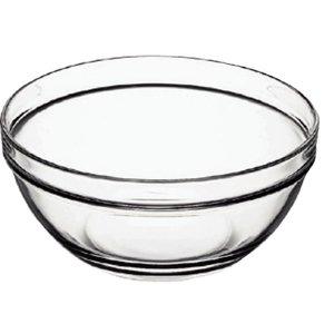 XXLselect Glasschale - aus gehärtetem Glas - Preis pro 6 Stück - 126ml - Ø9mm