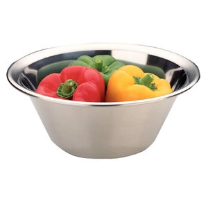 XXLselect Stainless steel mixing bowl - 6 Liter - Ø350mm