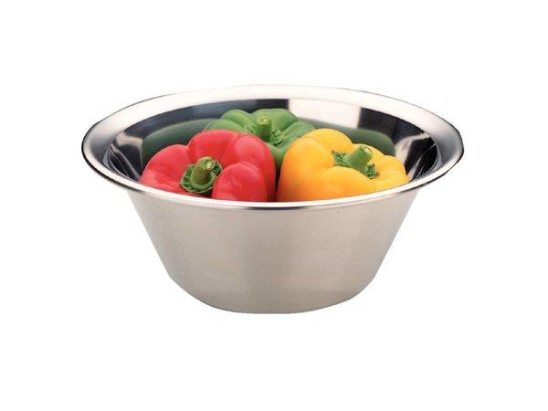 XXLselect Stainless steel mixing bowl - 6 Liter - Ø350mm