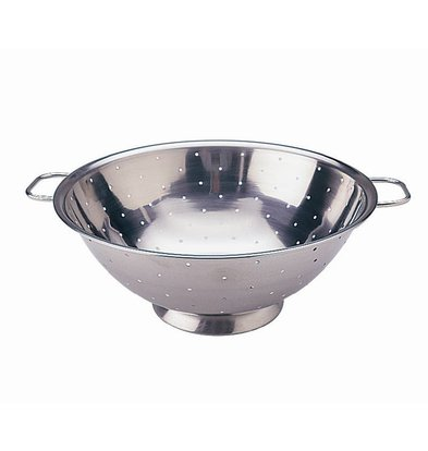 XXLselect Stainless steel colander | Ø35cm