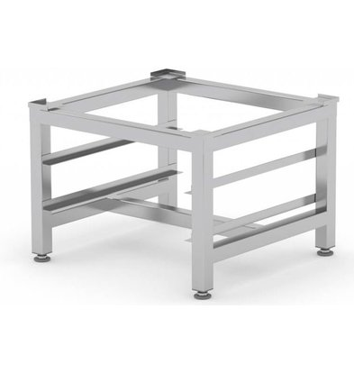XXLselect Frame / Buckle stainless steel | Universal for Catering Dishwashers + Racks for 2 Baskets 500mm (h)