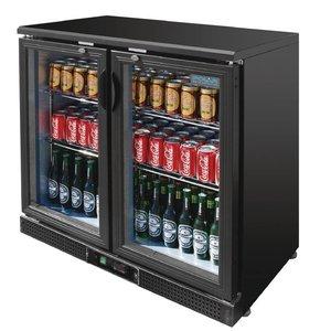 Polar Barkoeling Swing door with Double - 182 Bottles 330ml - 245 liters - 90x52x (h) 92cm