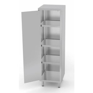 XXLselect Stainless Steel Cabinet Swing door + 1 + 3 Shelves | HEAVY DUTY | 400x500x800 (h) mm | CHOICE OF 3 WIDTHS