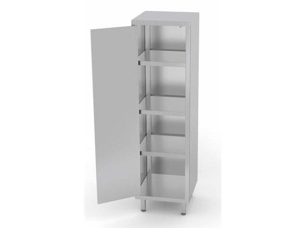 XXLselect Stainless Steel Cabinet Swing door + 1 + 3 Shelves | HEAVY DUTY | 400x500x800 (h) mm | CHOICE OF 3 WIDTHS