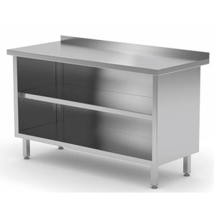 XXLselect Stainless Steel Open Cupboard + s Board | HEAVY DUTY | 500 (w) x600 (d) mm CHOICE OF 14 WIDTHS