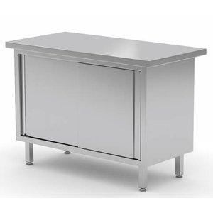 XXLselect Cupboard SS DUPLEX + 4 Doors | 800 (b) x700 (d) mm | CHOICE OF 12 WIDTHS