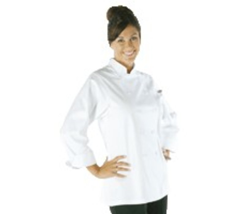 XXLselect Whites ladies tube - Long Sleeves - Available in 5 sizes - White