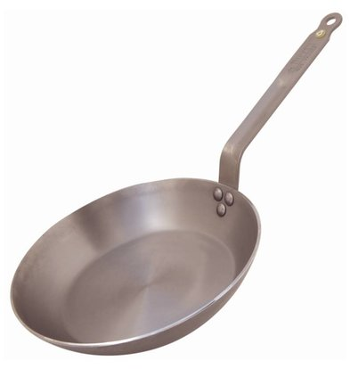 De Buyer Frying Steel Heavy Duty - 20cm diameter - CHOICE OF 4 SIZES