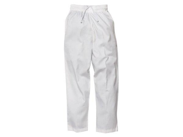 XXLselect Chef Works Easyfit Pants - Erhältlich in 6 Größen - Unisex - White
