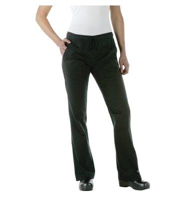 XXLselect Chef Works Damen Hosen - Erhältlich in 5 Größen - Schwarz