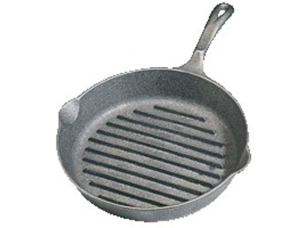 XXLselect Cast iron frying pan Ribbed - Ø 26,5cm