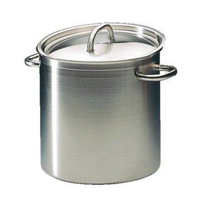 XXLselect Casserole / Stockpot Hohe Exzellenz Edelstahl - 10,8 Liter - 230 mm hoch - Auswahl von 5 GRÖSSEN