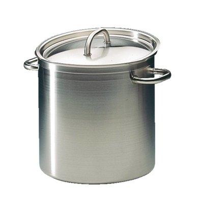 Bourgeat Casserole / Stockpot Hohe Exzellenz Edelstahl - 10,8 Liter - 230 mm hoch - Auswahl von 5 GRÖSSEN