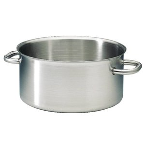 XXLselect Casserole / Stockpot Low Excellence SS - 5.4 Liter 5 CHOICE OF SIZES