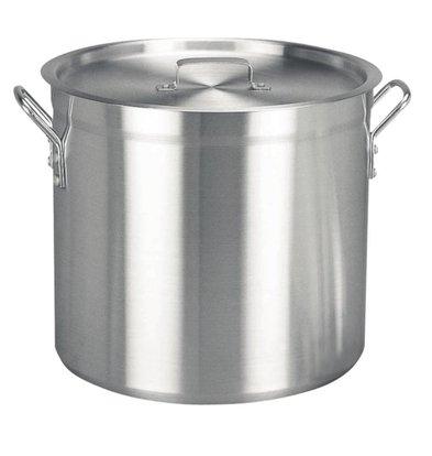 Vogue Casserole / Stockpot High Aluminum - 18.9 Liter - CHOICE OF 4 SIZES