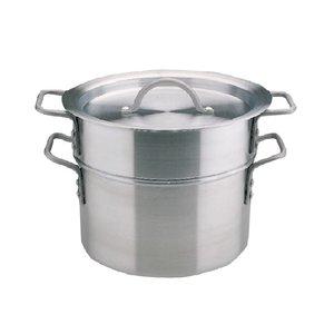 XXLselect Double saucepan Aluminium - 9 Liter - 27,5cm Ø