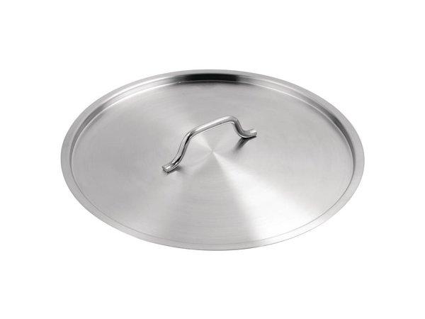 XXLselect Deckel für Edelstahl Kochgeschirr - 40 cm Ø