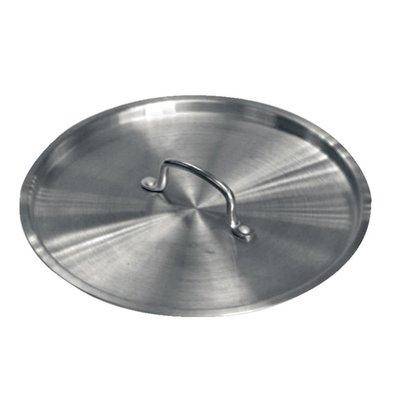 XXLselect Deckel für Aluminiumkocher Ressourcen - 23,5 cm Durchmesser