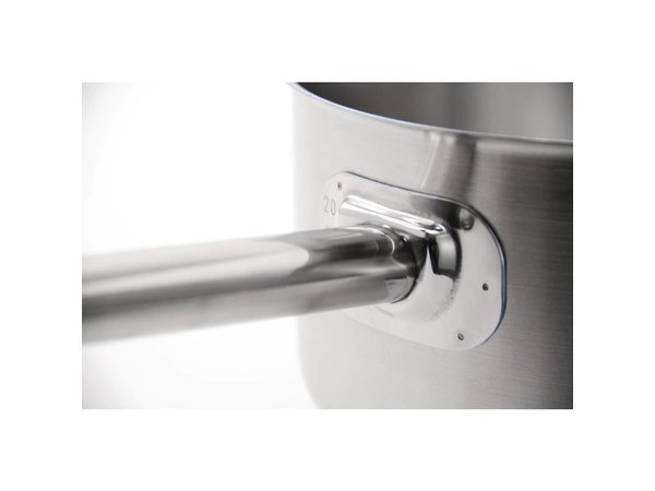 XXLselect Stainless steel saucepan - 0.9 Litre - CHOICE OF 5 SIZES