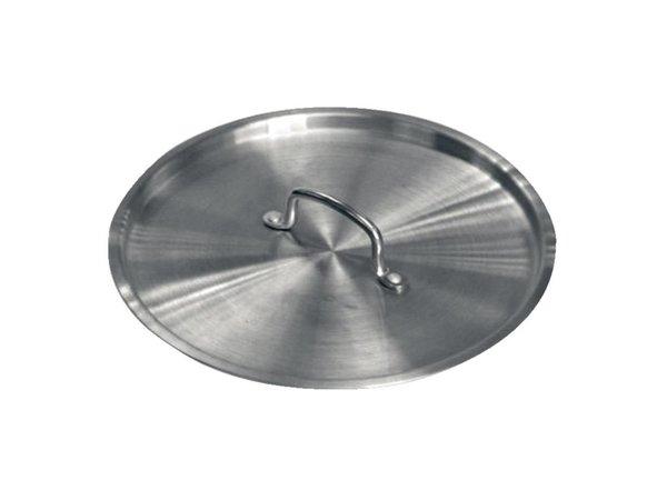 XXLselect Deksel voor Aluminium Steelpannen - 14cm Ø