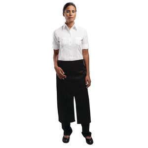 XXLselect Uniform Works bistro sloof - Afmeting 75(L) x 80(B)cm - Zwart - Unisex
