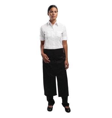 XXLselect Uniform Works Bistroschürze - Größe 75 (L) x 80 (W) cm - Schwarz - Unisex