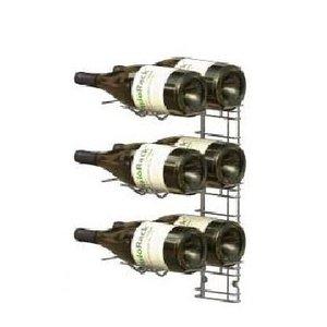 XXLselect WijnFlessenrek Presentatie 6 Magnum Flessen - 3 niveaus