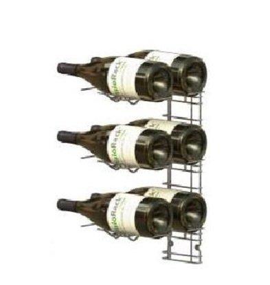 XXLselect WijnFlessenrek Presentation 6 Magnum-Flaschen - 3 Ebenen