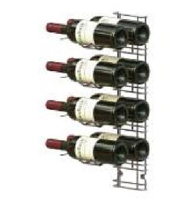 XXLselect WijnFlessenrek Presentation 8 Bottles - 4 levels - 75cl