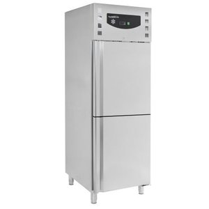 XXLselect Fridge / Freezer - Stainless Steel - 474 Liter - 74x83x (h) 201cm