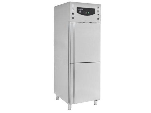 Combisteel Fridge / Freezer - Stainless Steel - 474 Liter - 74x83x (h) 201cm