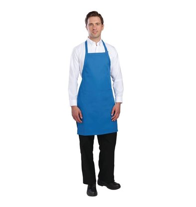 Chef Works Chef Works - Adjustable Halter Apron with Pockets - 85 x 60cm - Available in seven colors - Unisex
