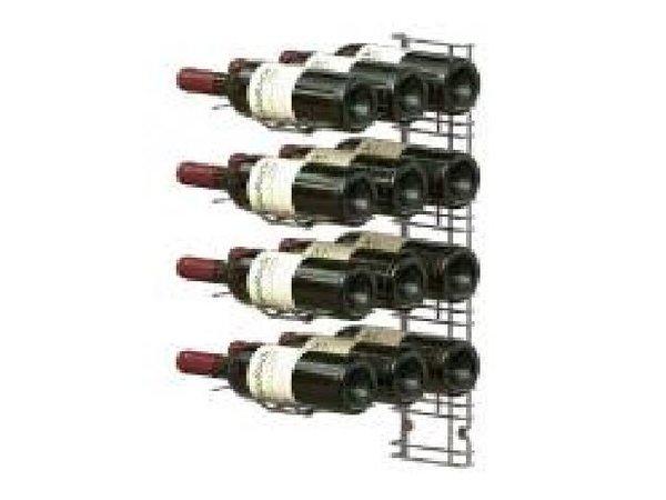XXLselect WijnFlessenrek Presentatie 12 Flessen - 4 niveaus - 75cl