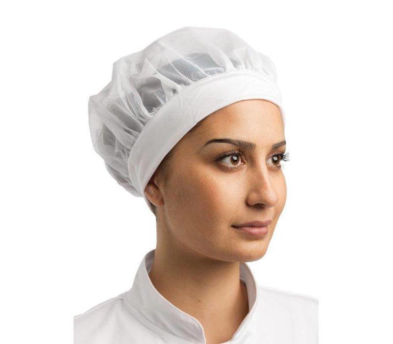 XXLselect Whites Beanie - Nylon - Universal size - White - Ladies