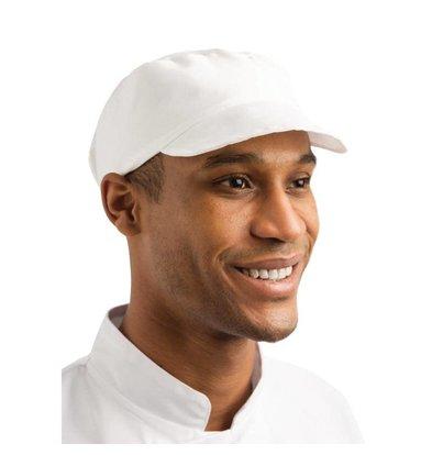 XXLselect Whites Bakers Cap - Weiß - Universalgröße - Unisex