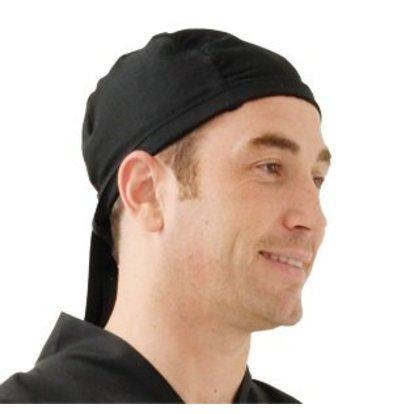 Chef Works Chef Works Hoofddoek - Universele maat - Zwart - Unisex