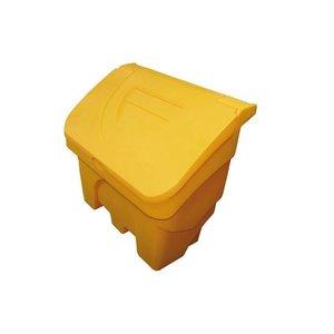 XXLselect Strooizoutbak / Zoutkist met Schep - 200 liter - Kleur Geel
