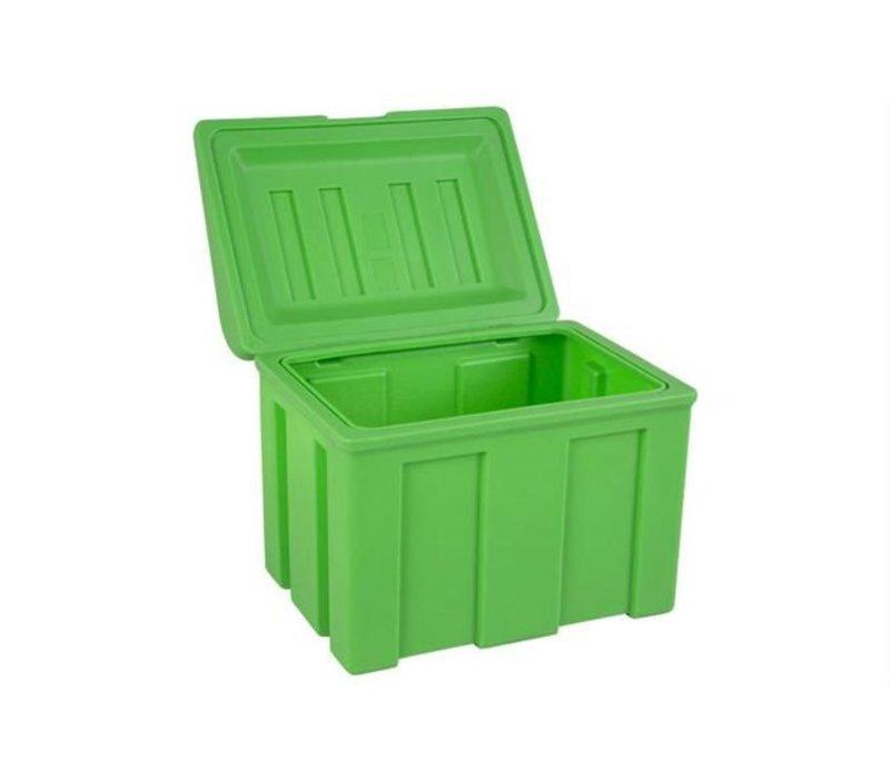 XXLselect Strooizoutbak / Salz-Kasten - 110 Liter mit kostenlosen Scoop - Erhältlich in 3 Farben