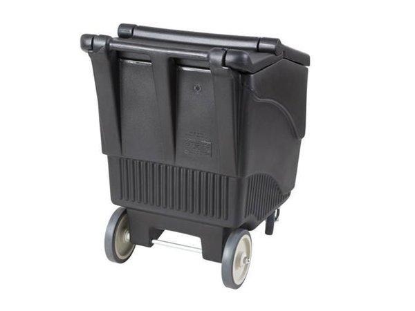 XXLselect IJsblokjes transportwagen - Mobiele IJsopslagbak - 57 KG Inhoud