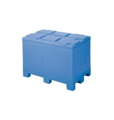 XXLselect Thermobehälter durch Palettenfüße - 450 Liter - 60x40x54cm