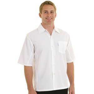 XXLselect Chef Works Cool Vent Chef Shirt - White - Available in six sizes - Unisex