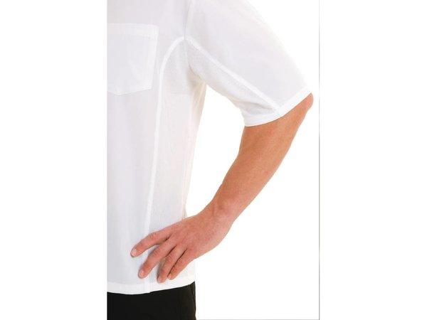 XXLselect Chef Works Coolvent Chef Shirt - Wit - Beschikbaar in zes maten - Unisex
