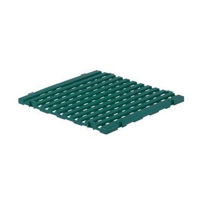 XXLselect Anti-Rutsch-Bodenfliese-Platz Gastro-Plus - 60x60x3cm - Green
