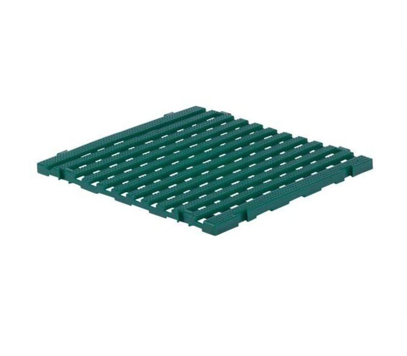 XXLselect Anti-slip Vloertegel Vierkant Gastro-Plus - 60x60x3cm - Groen
