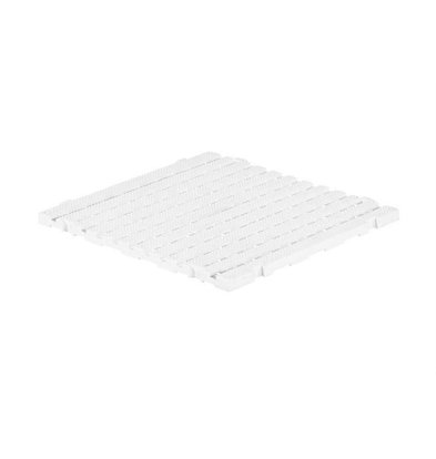XXLselect Anti-slip Vloertegel Vierkant Gastro-Plus - 60x60x3cm - Wit