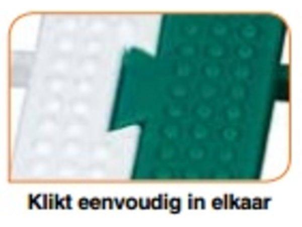 XXLselect Anti-slip Vloertegel Vierkant Gastro-Plus - 60x60x3cm - Wit